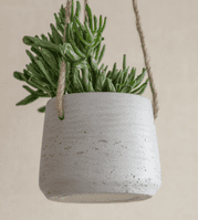 Hanging Plant Pot - Stone | Home Accessories